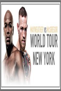 Nonton Film Mayweather vs McGregor World Tour New York Subtitle Indonesia Streaming Movie Download