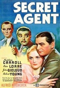 Nonton Film Secret Agent (1936) Subtitle Indonesia Streaming Movie Download