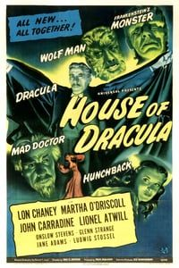 Nonton Film House of Dracula (1945) Subtitle Indonesia Streaming Movie Download