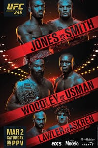 Nonton Film UFC 235: Jones vs. Smith (2019) Subtitle Indonesia Streaming Movie Download