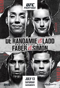 Nonton Film UFC Fight Night 155: de Randamie vs. Ladd (2019) Subtitle Indonesia Streaming Movie Download