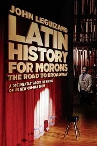 Nonton Film John Leguizamo's Road to Broadway (2018) Subtitle Indonesia Streaming Movie Download